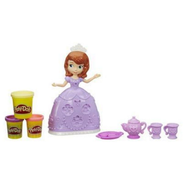 Hasbro Play Doh Playdoh Disney Sofia The First Tea Party Set A7398
